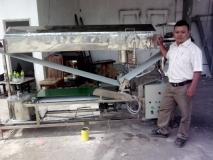 Máy làm bánh ướt - bánh cuốn nóng mini VietNam rice paper machine