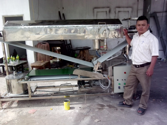 Máy làm bánh ướt- bánh cuốn- www.kinhdoanh360.vn